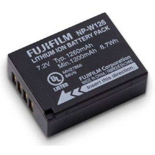 FUJIFILM Camera Battery [NP-W126] - On Camera Battery